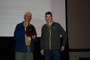 Gerhard Weikum receives 2016 SIGMOD Edgar F. Codd Innovations Award
